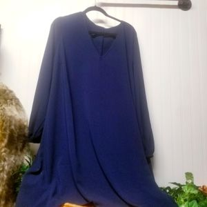 NWT Ava & Viv Navy Blue Tunic Size 3X